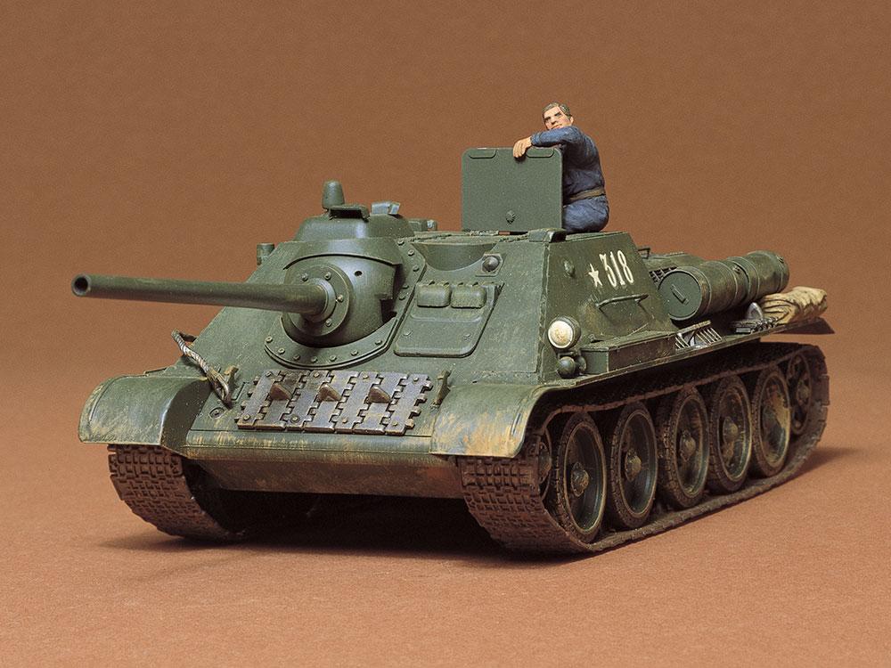1/35 SCALE RUSSIAN TANK DESTROYER SU-85