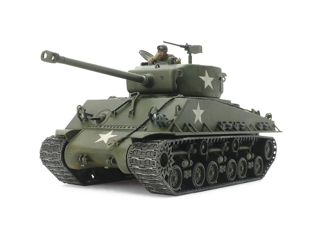 1/48 SCALE U.S. MEDIUM TANK M4A3E8 SHERMAN