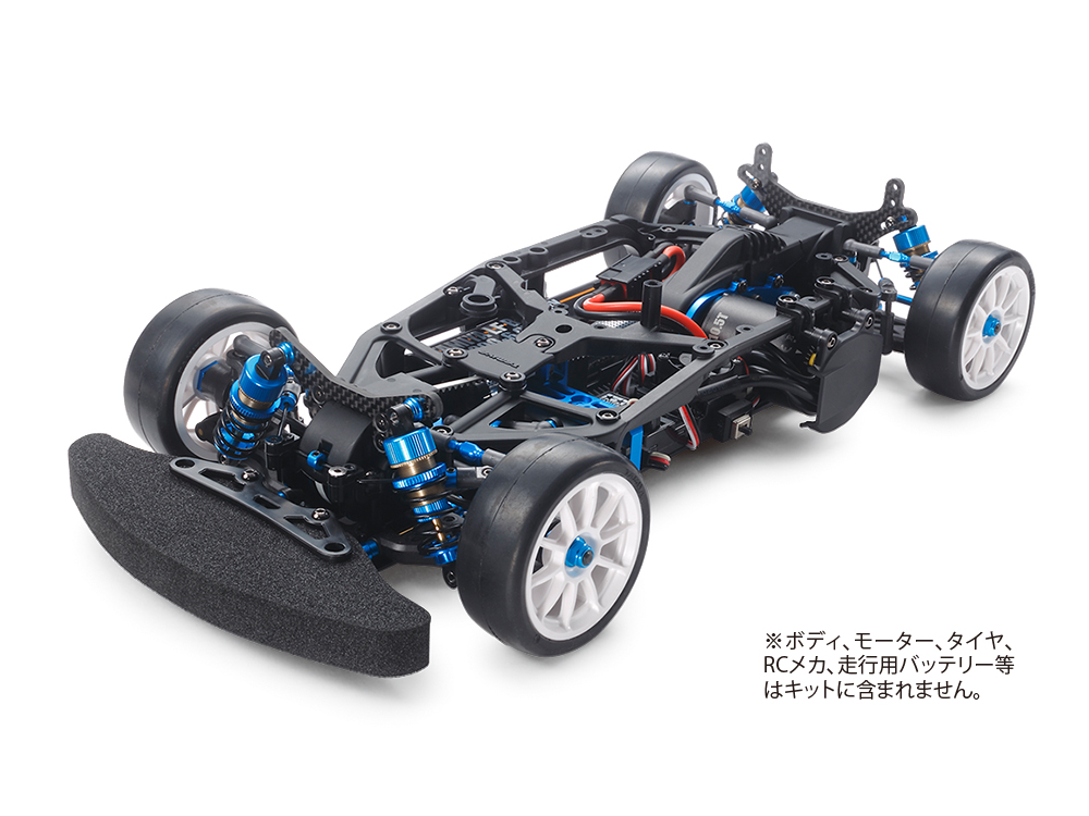 1/10 SCALE R/C 4WD HIGH PERFORMANCE RACING CAR TA07R CHASSIS KIT
