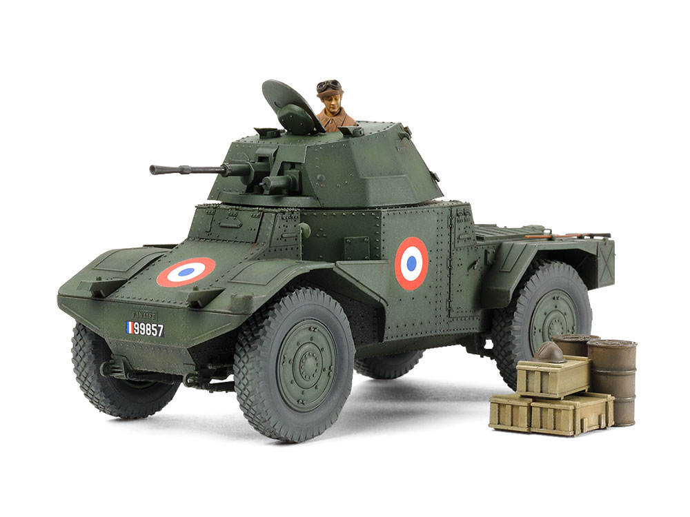 1/35 SCALE FRENCH ARMORED CAR AMD35 (1940)