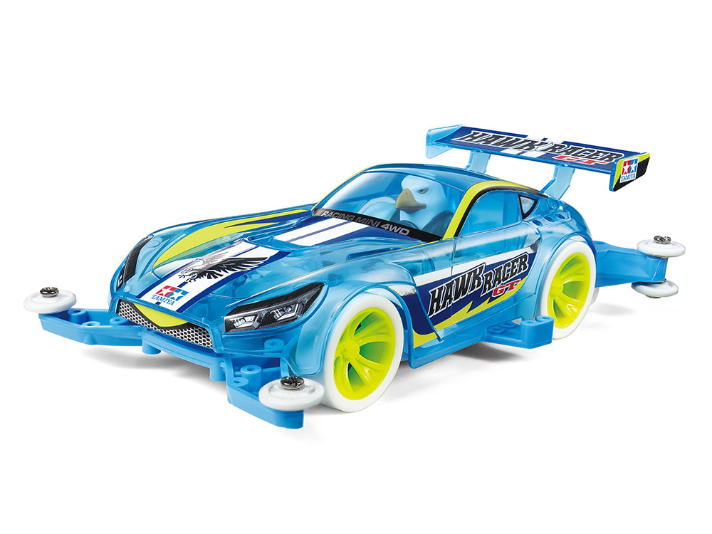 MINI 4WD HAWK RACER GT