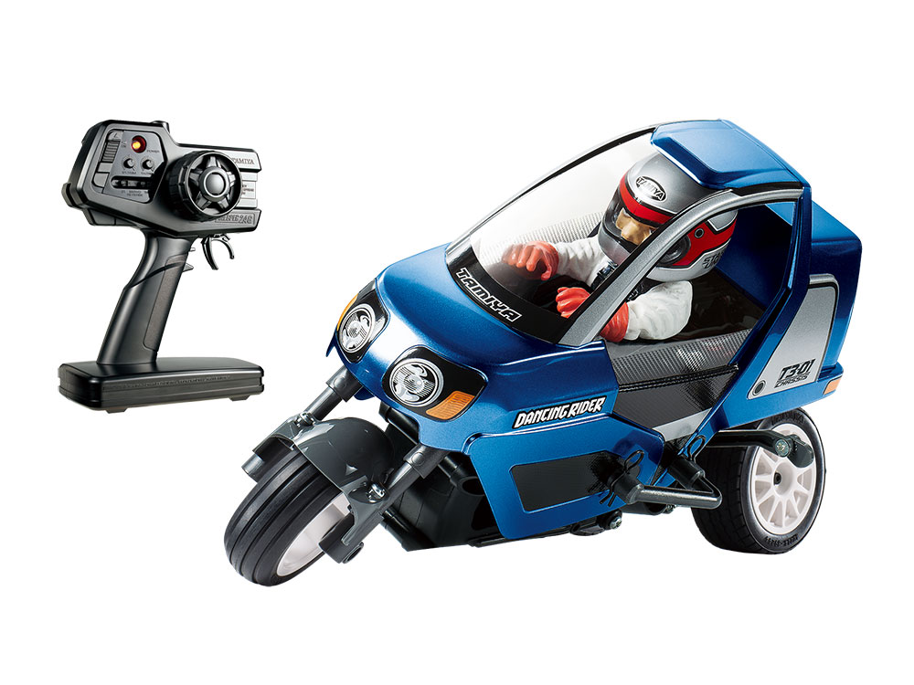 1/8 SCALE R/C VEHICLE STAR UNIT TRIPLE WHEEL DANCING RIDER (ASSEMBLED) (T3-01 CHASSIS) METALLIC BLUE BODY