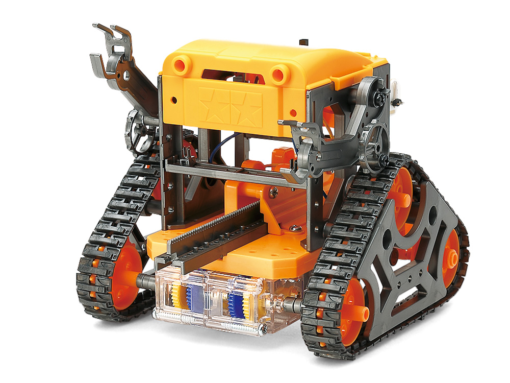 CAM-PROGRAM ROBOT (GUN METAL & ORANGE)