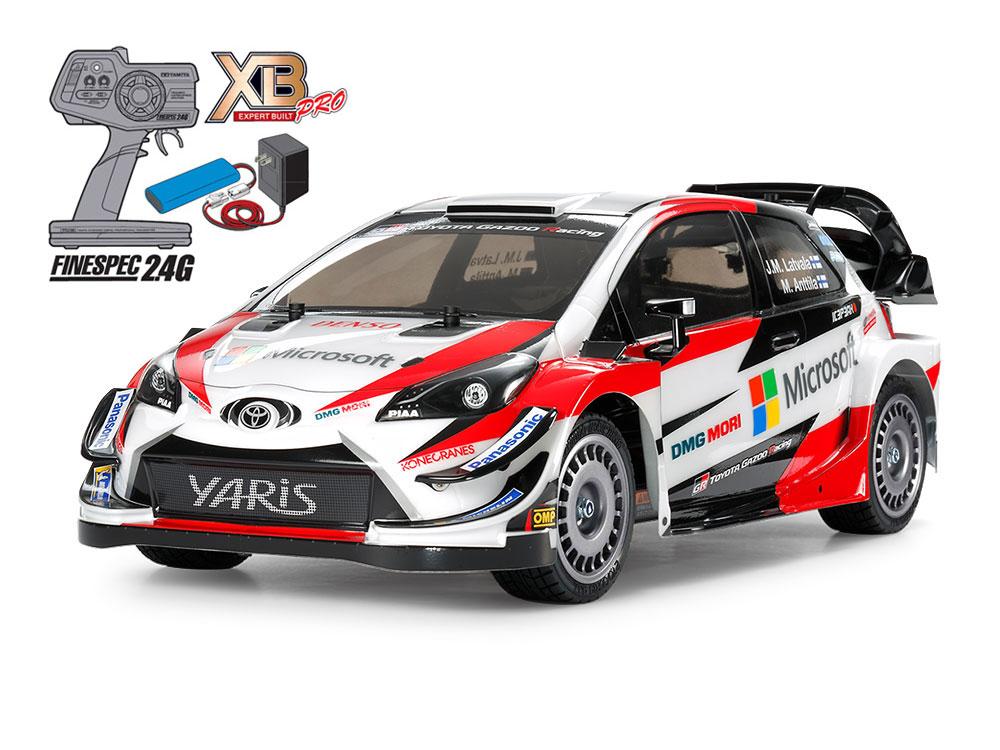 1/10 SCALE EXPERT BUILT TOYOTA GAZOO Racing WRT/Yaris WRC(TT-02 CHASSIS)