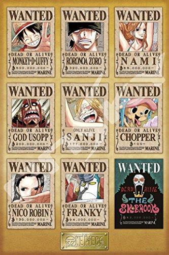 Wanted拼圖/海報等