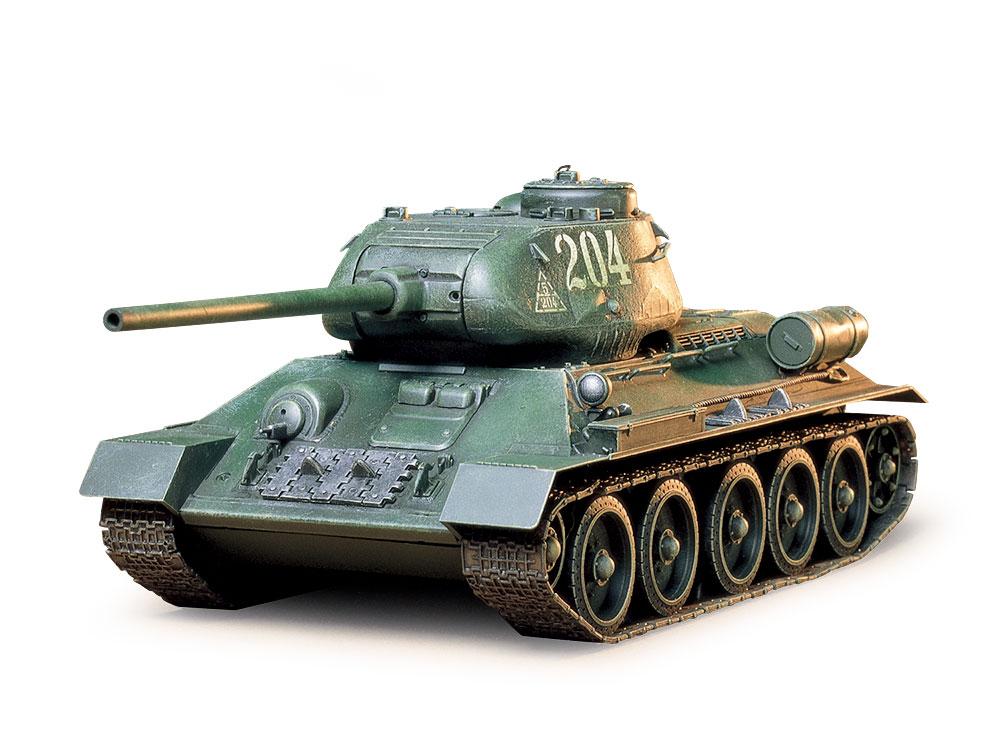 1/35 SCALE RUSSIAN TANK T34/85