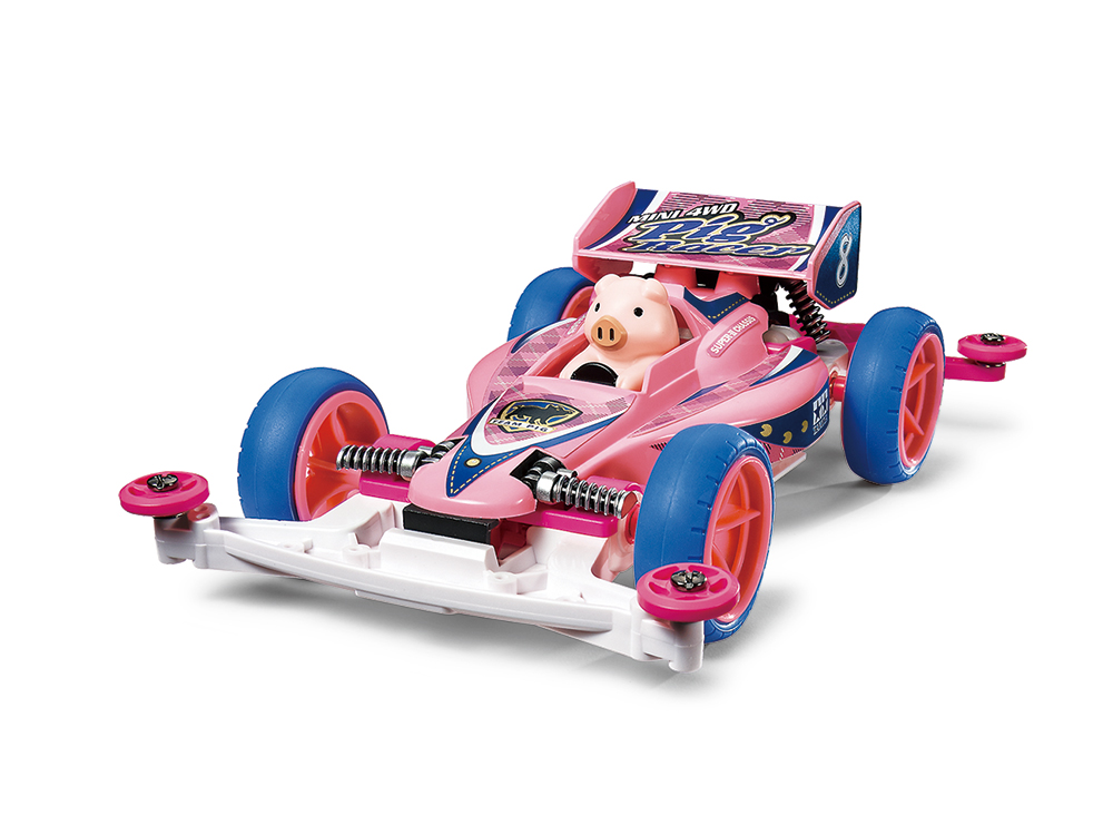 MINI 4WD PIG RACER