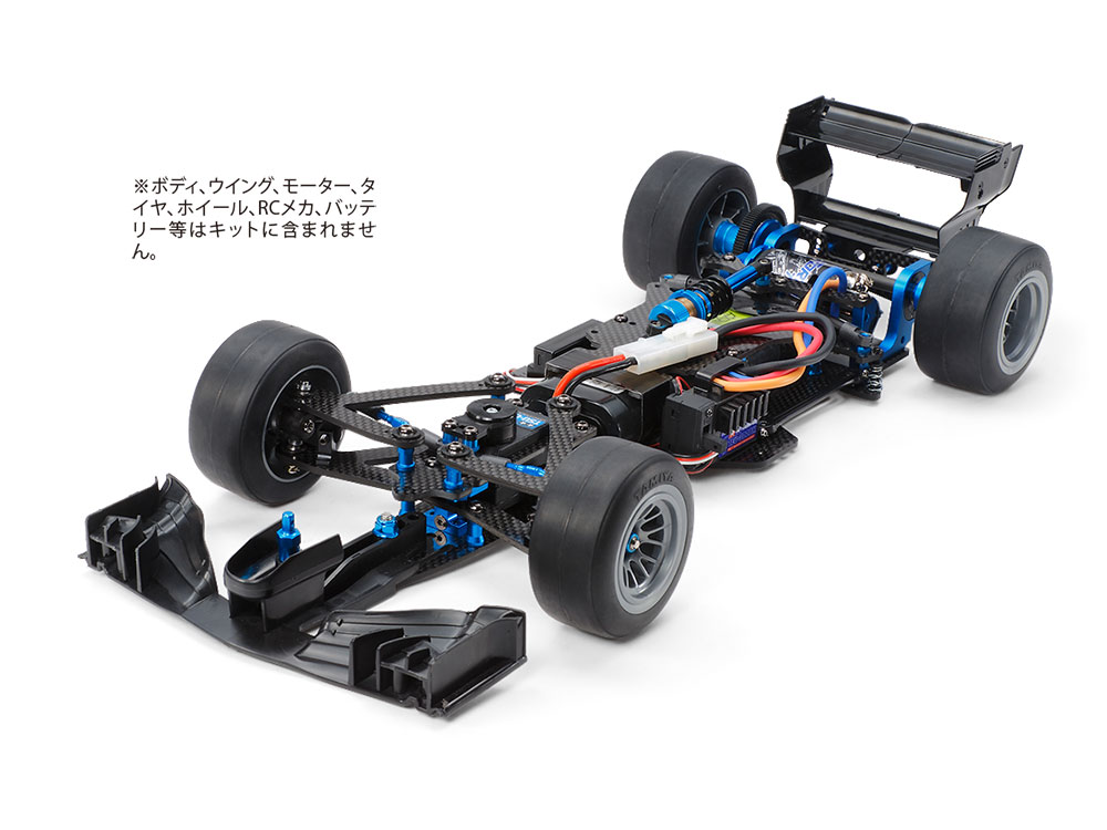 1/10 SCALE R/C 2WD HIGH PERFORMANCE RACING CAR TRF103 CHASSIS KIT