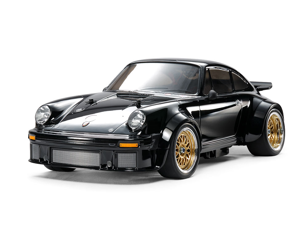 1/10 SCALE R/C 4WD HIGH PERFORMANCE RACING CAR PORSCHE TURBO RSR TYPE 934 BLACK EDITION (TA02SW CHASSIS)