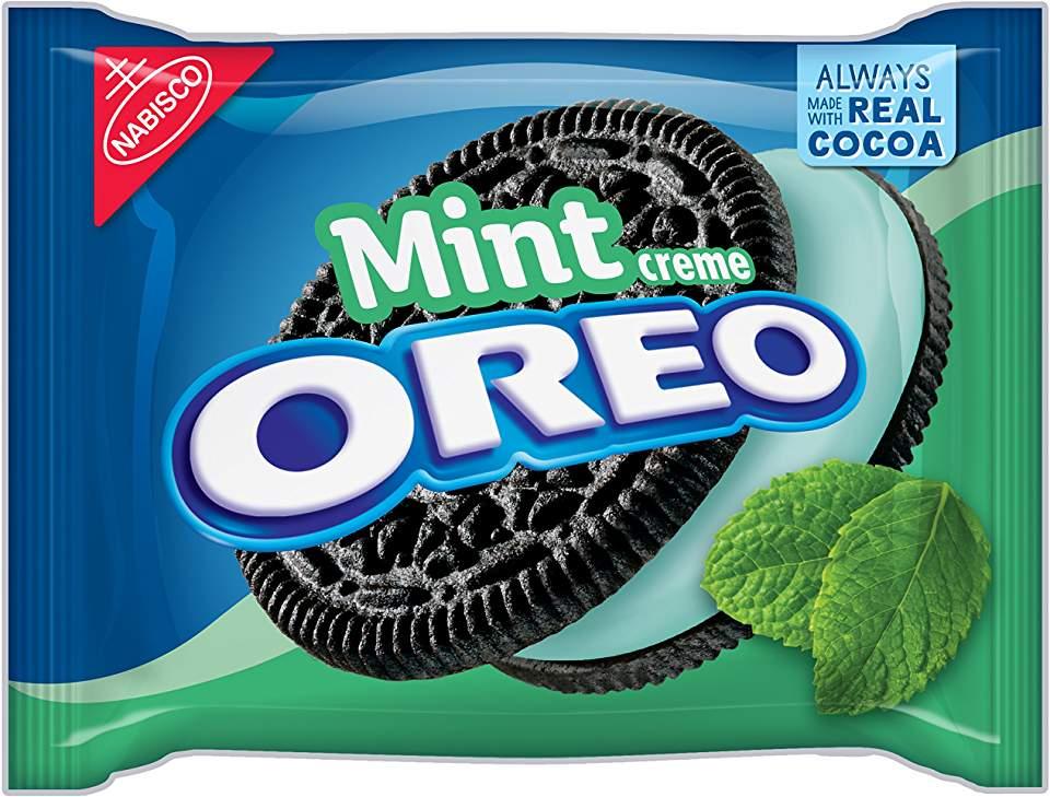 Mint Oreos