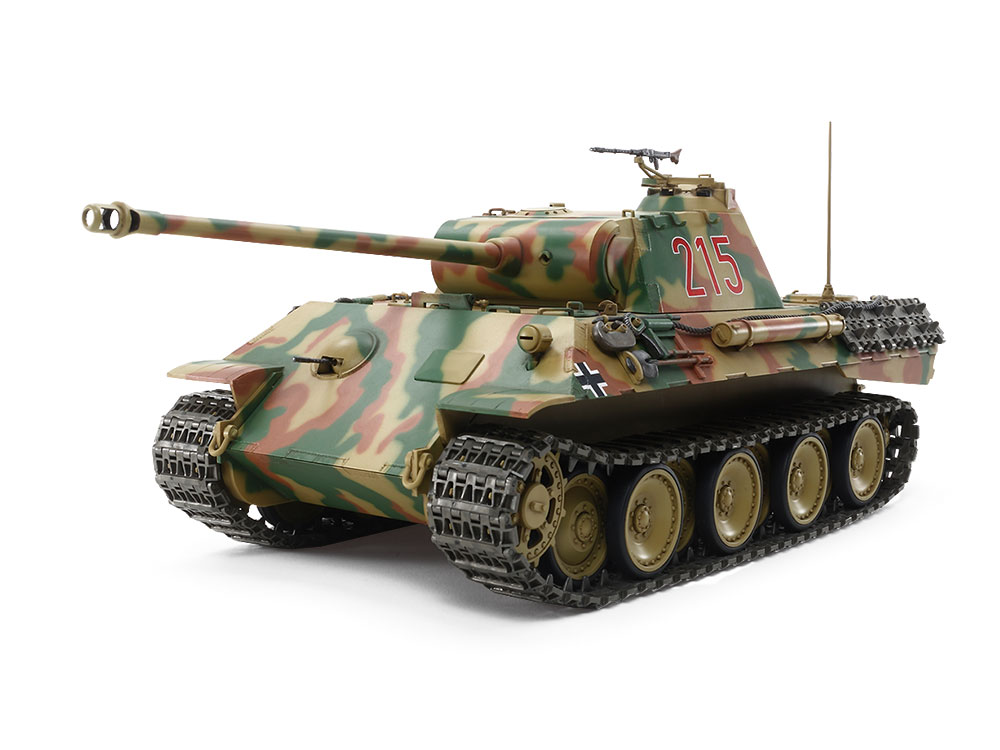 1/25 SCALE R/C GERMAN TANK PANTHER Ausf.A (w/CONTROL UNIT)