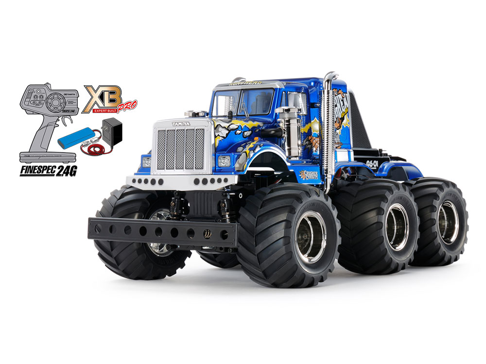 1/18 SCALE EXPERT BUILT KONGHEAD 6x6 (G6-01 CHASSIS)