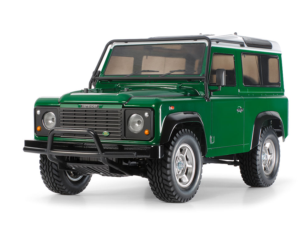 1/10 SCALE R/C 4WD OFF ROAD CAR LAND ROVER DEFENDER 90 (CC-01 CHASSIS)