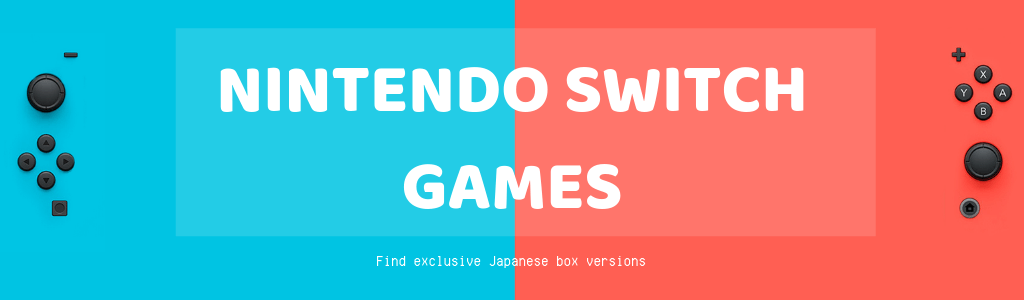 Get Exclusive Japanese Box Versions of Nintendo Switch Games