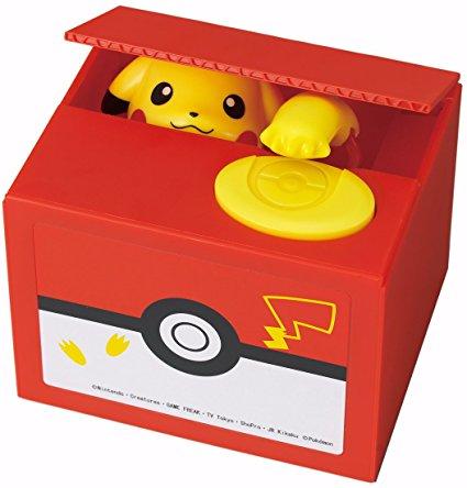Pikachu Money Bank