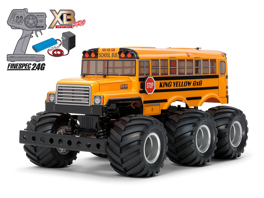 1/18 SCALE EXPERT BUILT KING YELLOW 6x6 (G6-01 CHASSIS)