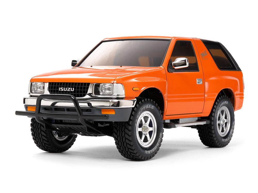 1/10 SCALE R/C 4WD OFF-ROAD CAR ISUZU mu TYPE X (CC-01 CHASSIS)