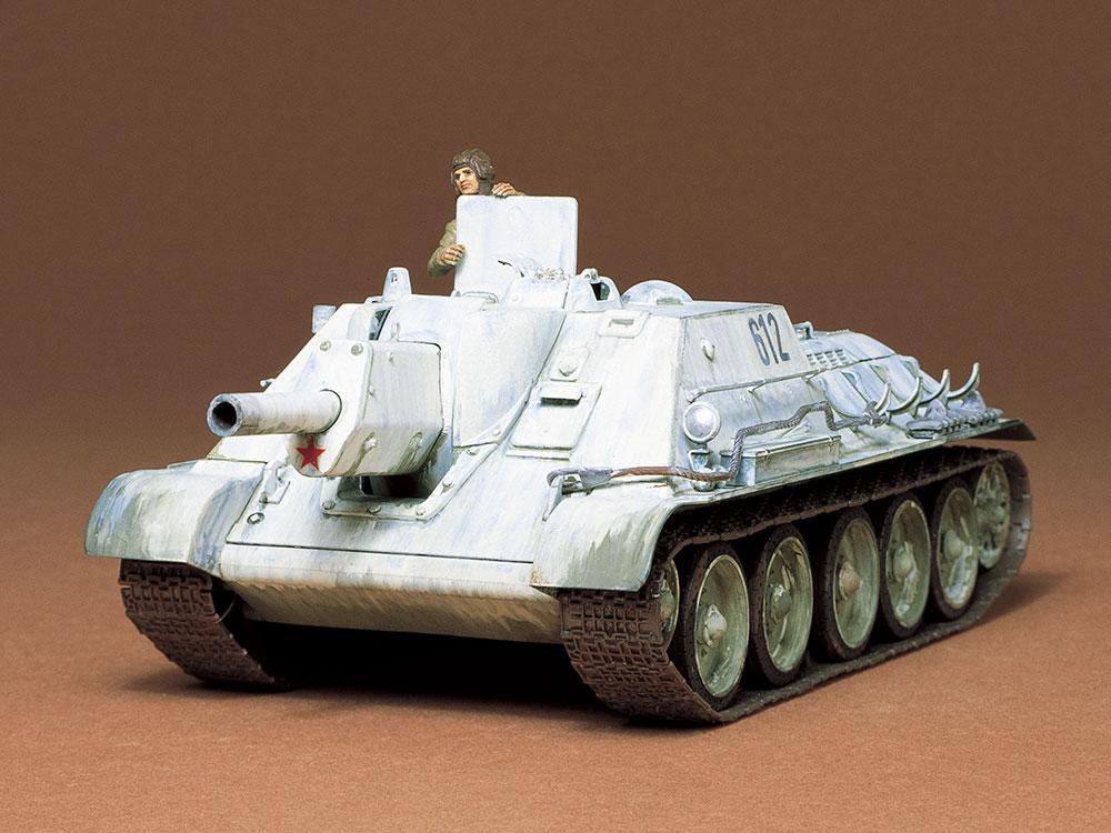 1/35 SCALE RUSSIAN TANK DESTROYER SU-122