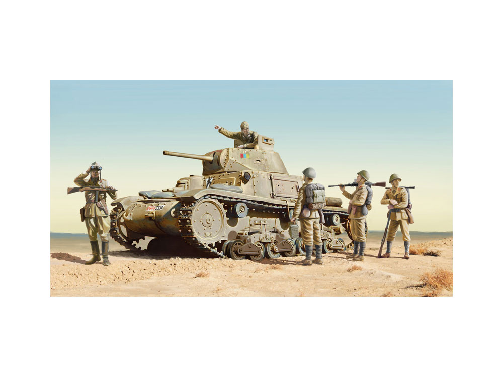 6543S 1/35 M14/41 with Italian Infantry