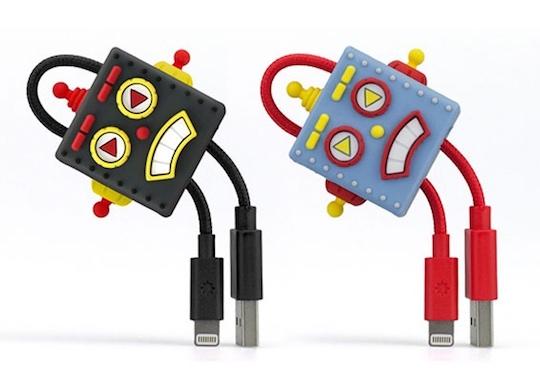Robot USB Lightening Cable