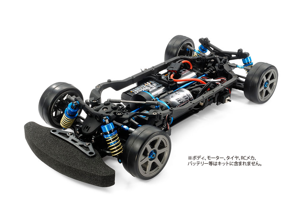 1/10 SCALE R/C 4WD HIGH-PERFORMANCE RACING CAR TB-05 PRO CHASSIS KIT