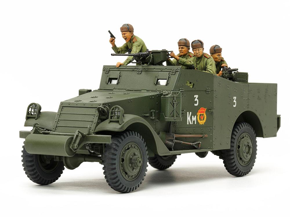 1/35 SCALE M3A1 SCOUT CAR
