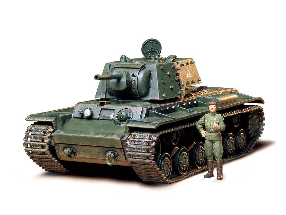 1/35 SCALE RUSSIAN TANK KV-1B MODEL 1940 W/APPLIQUE ARMOR