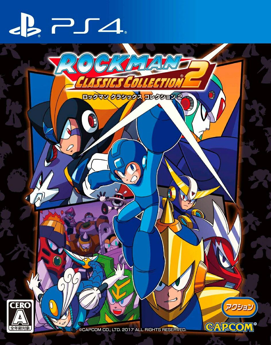 PS4 - Rockman Classics Collection 2