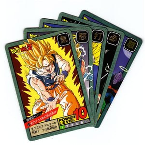 Dragon Ball Trading Cards